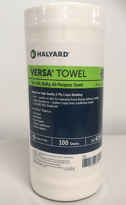 Versa Towel Halyard -Small roll 24.5 x 41.5cm -Carton 1