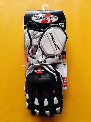 ** Brand New Gpx 2.0 Race Gloves Joe Rocket Motorcycle Gloves - White ***