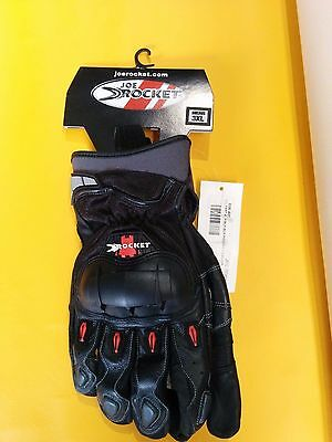 ** Brand New Joe Rocket Phoenix 3.0 Black Motorcycle Gloves ***