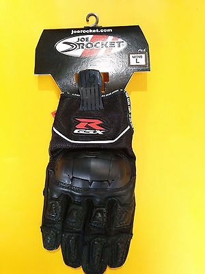 ** Brand New Suzuki Gsxr - Nitrous / Joe Rocket Motorcycle Gloves - Black***