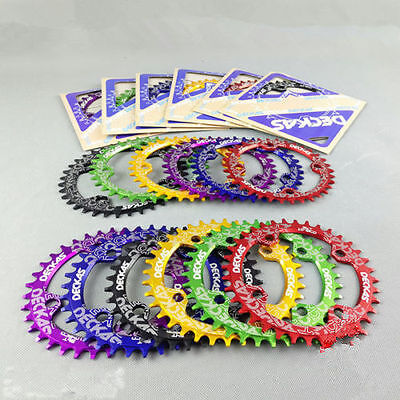 DECKAS Bike Narrow Wide Round Oval Chainring Chain Ring BCD 104mm 32/34/36/38T