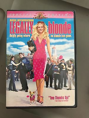 legally blonde dvd with Reese Witherspoon