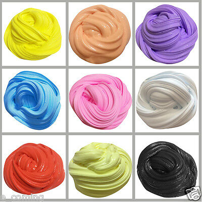 Fluffy SLIME Bubblegum 100g Butter Squishy Stretchy favor goo Fresh Scented Toy