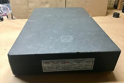 """Granite Surface Plate - Grade A - 12"""" x 18"""" x 3 1/2"""" - .000050"""" Accuracy"""