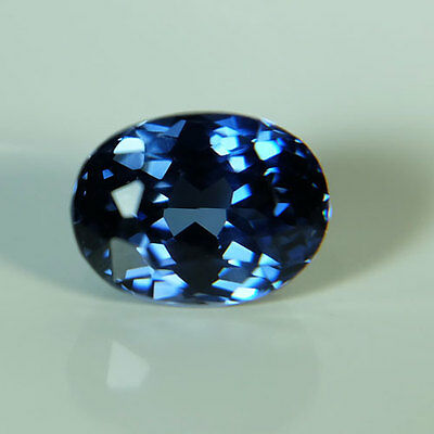 3.50ct.RAVISHING BLUE SAPPHIRE OVAL LOOSE GEMSTONE