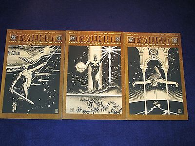 TWILIGHT Books 1 - 3 Complete Series [DC 1990] VF/NM or Better!