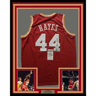 9e053a86d97fa FRAMED AUTOGRAPHED/SIGNED SHAQUILLE SHAQ O'NEAL 33x42 Miami Red ...