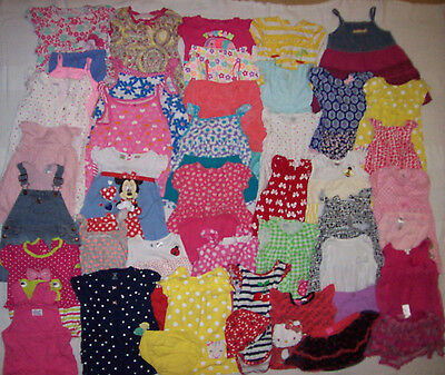 Huge Pieces Lot Baby Girl Clothes 24 Months