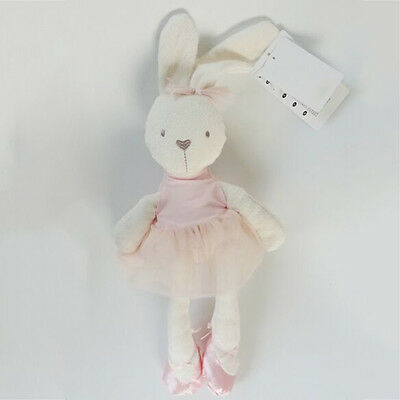 Lovely Pink Stuffed 42cm Large Soft Rabbit Animal Bunny Toy Girls Pillow Gift