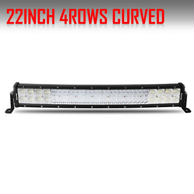 22inch 3072W Curved COMBO LED Light Bar Offroad Driving ATV Boat 4-Rows VS 24""