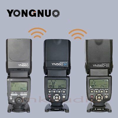 YONGNUO flash speedlite YN560IV YN560III YN660 YN560TX for selection/CANON NIKON
