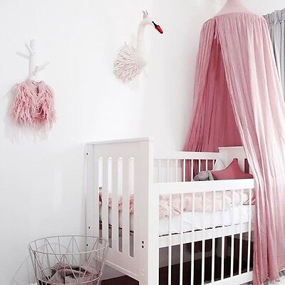 Baby Tent Crib Netting Palace Children Room Bed Curtain Hung Dome Mosquito Net