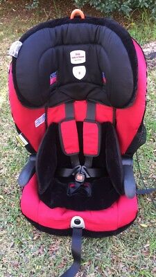 Safe n Sound Maxi Rider AHR Child, Toddler Car / Booster Seat - Garnet
