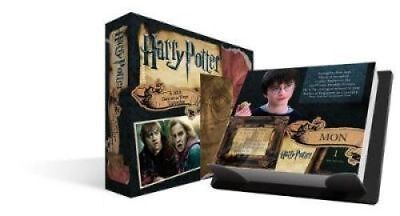 Harry Potter : 2018 Day-at-a-Time Desk Calendar from DateWorks