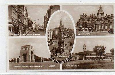 """""""""""postcard Multiview Leicester"""""""""""