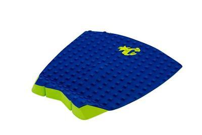 Pro Surfboard Tail Pad - Surf Board Surfing Deck Grip Blue/Lime From Creatures