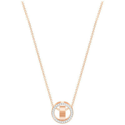 NEW Swarovski Hollow Small Rose Gold Pendant