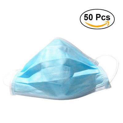 50x Disposable Surgical Medical Face Mouth Dust Clean Hygienic Mask #251