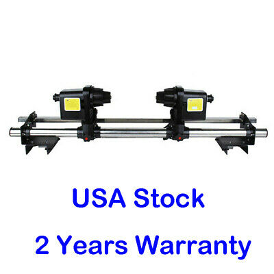 Auto Media Take Up Reel Roller System 2 Motors Roland SP540I/SP300 Epson Mutoh