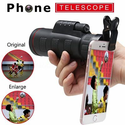 HD Clip-on 35X50 Optical Zoom Telescope Camera Lens For Universal Mobile Phone