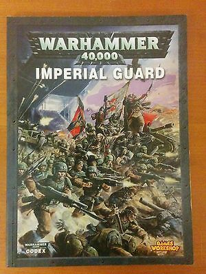 Warhammer 40k Codex Imperial Guard