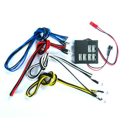 YR Ultra Bright Flashing light kit 7 Mode for 1:10 RC suit  Tamiya HPI Sakura