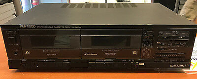 Kenwood KX-66CW Separate Twin Cassette Deck - MAKE US AN OFFER! L@@K!