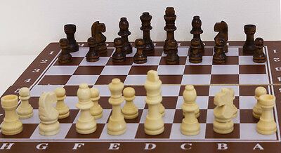 Brand New Wooden Board Chess Set 3IN1 *Great Board Game Choice