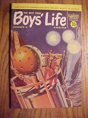 Classics Illustrated  Boys' Life #3 - 1958 - Vg/vg+ Condition