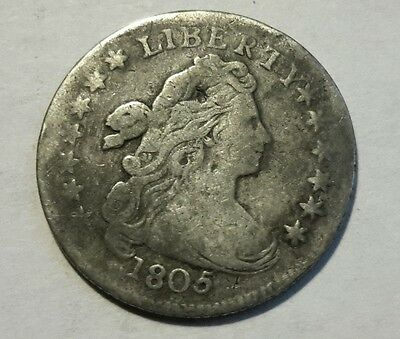 1805 Draped Bust Dime