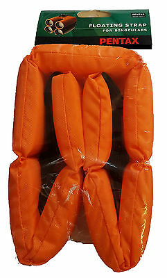 Pentax Floating Orange Binocular Strap High Visibility Unsinkable Neck Strap