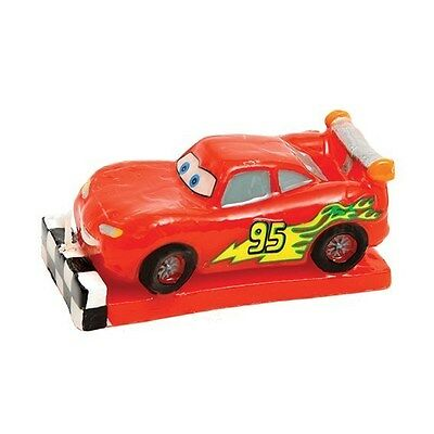 Disney Pixar Cars LIGHTNING MCQUEEN  Birthday Cake Candle - New
