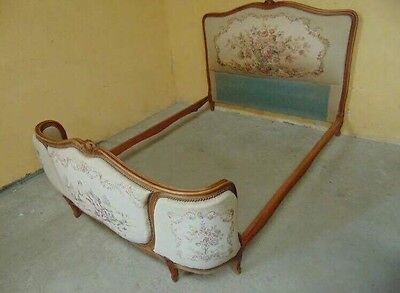 Vintage Louis French Style Double Bed