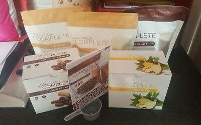juice plus complete shakes boosters + Bars