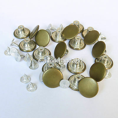 10/20 Mens Bachelor Buttons for Suspenders Replacement Instant Suspender Buttons