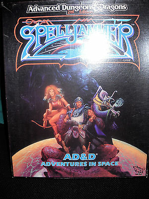 AD&D Advanced Dungeons & Dragons: Spelljammer - Box, 2nd. Edition