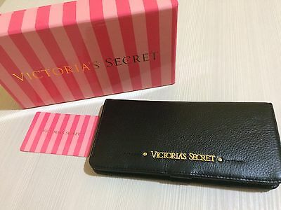 VICTORIA'S SECRET portafoglio pelle NUOVO Wallet genuine leather