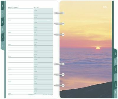 Coastlines Address-Phone Tabs Portable Size - Telephone-Address Pages
