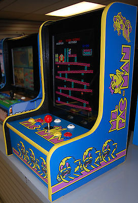 MS PACMAN PAC MAN GALAGA Bar Top MULTICADE Arcade Classics LCD~~ BRAND NEW