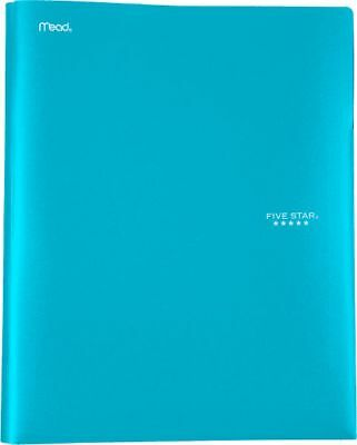 Five Star Pocket and Prong Plastic Folder - Pocket And Prong Folders