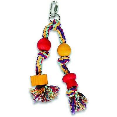 Happy Pet Products Twin Hanger Parrot Toy