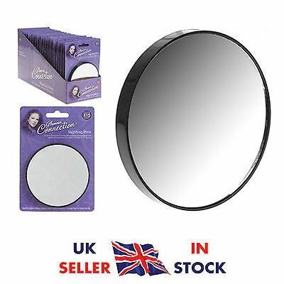 Magnifying Mirror 15X Magnification Close Eye Lense Make Up Cosmetic Suction Uk