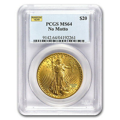 SPECIAL PRICE! $20 Saint-Gaudens Gold Double Eagle MS-64 PCGS (Random Year)