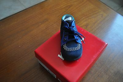 Chaussures Premiers  Pas Mixte Kickers Taille 18 Marine Bleues