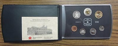 1999 Canadian Specimen Set ✪ Original Box & Coa ✪ Rcm 7 Piece Canada ◢Trusted◣