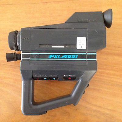 1987 Rare Cassette Fisher Price PXL 2000 Video Camera AS IS for Parts or Repair