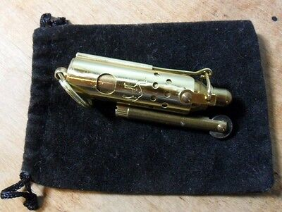Camel~Wwi Reproduction Trench Lighter~Solid Brass~Never Used~Rare!