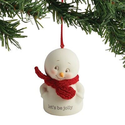Department 56  Snowpinions Lets Be Jolly  Snowman Ornament New 2017 !