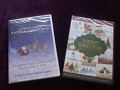 Crafter's Companion :- Raymond Briggs & Romany Christmas Papercrafting C.D. Roms