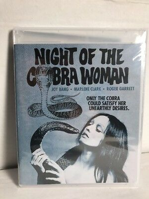 NIGHT OF THE COBRA WOMAN Blu-Ray Scorpion Releasing / Code Red FACTORY SEALED